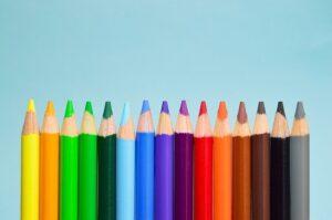 rodzaje kredek do rysowania dla dzieci